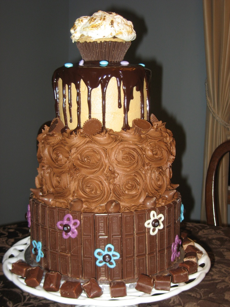 Pin by Shirley Nguyen on Wedding and Birthday Cakes ...