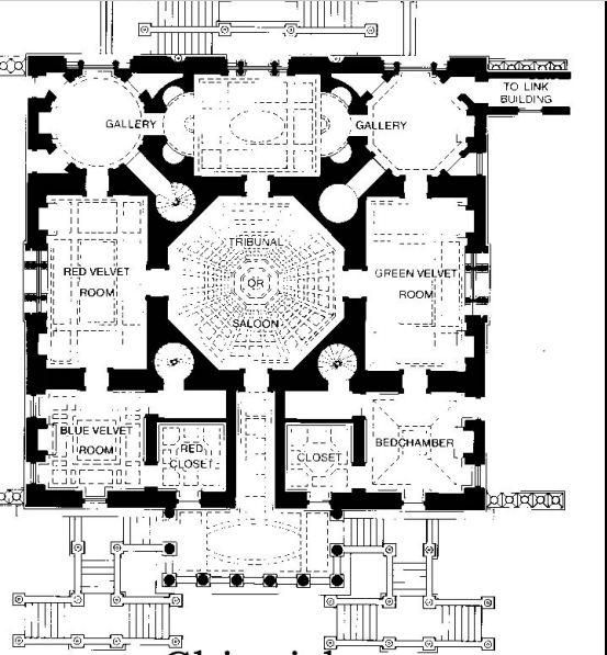 Chiswick House Floor Plan English Country Houses