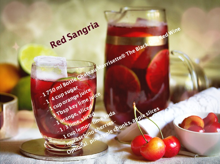 the sugar. Add orange juice, lime juice, orange slices, lime slices ...