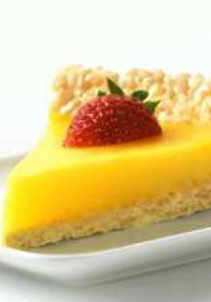 Marshmallow Crispy Lemon Pie | Sweets | Pinterest