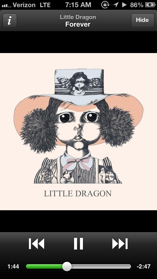 Little dragon forever music spotify music app bliss pinterest