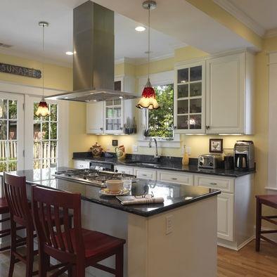 light yellow kitchen