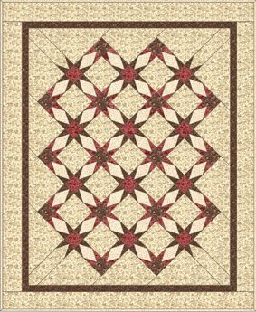 Garden Enchantment Quilt Pattern