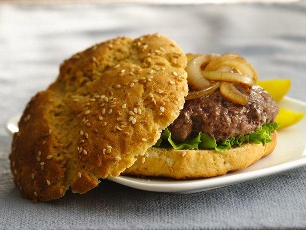 Gluten-Free Sesame Seed Hamburger Buns | Recipe