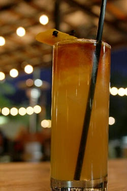 riff on the classic Dark and Stormy, the After the Storm injects the ...