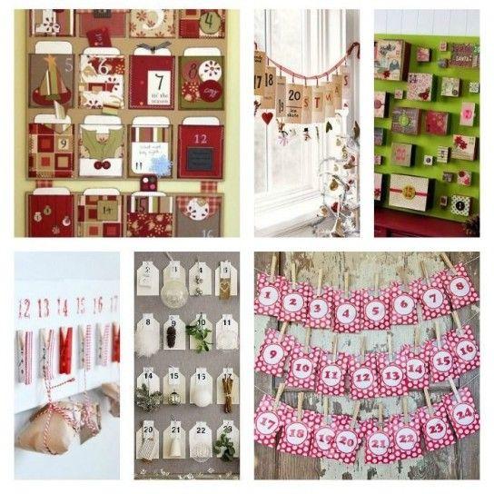Idee per il calendario dellavvento Natale - Christmas ideas Pint ...