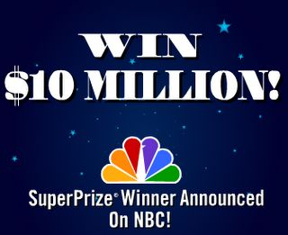 PCH 10 Million Dollars Sweepstakes