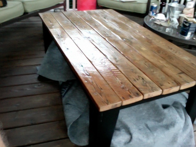 Reclaimed Barn Board Coffee Table My Own Creations Pinterest