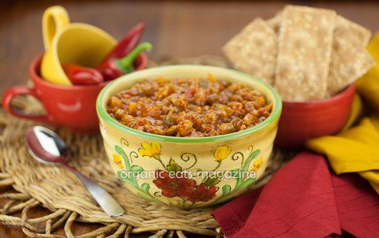 Easy Turkey Chili - Gluten Free with a 5 ingredient crock pot recipe ...