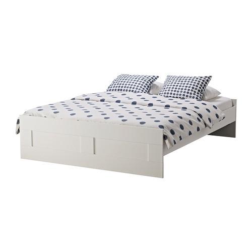 Ikea Mandal Kommode Gebraucht ~ BRIMNES Bed frame IKEA Adjustable bed sides; allow you to use