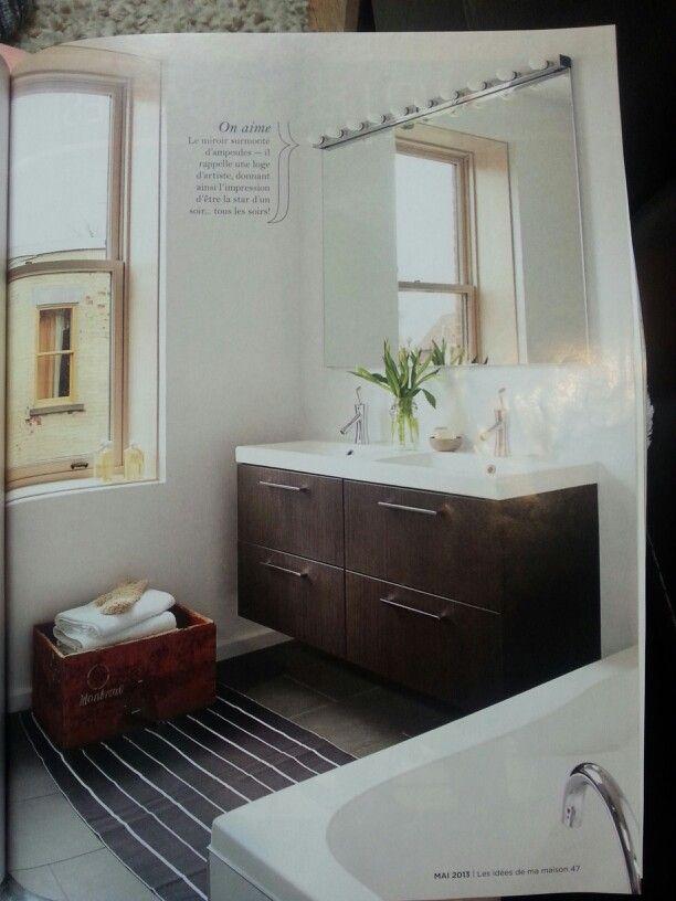 Salle de bain  Conseils déco  Pinterest