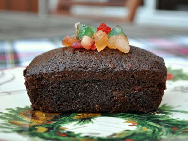 Individual Spiced Fruitcakes | I love Fruitcake | Pinterest