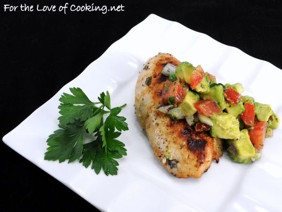 Cilantro-Lime Chicken with Avocado Salsa 8/27/12