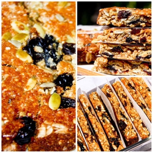 Peanut Butter Granola Bars   Food Muffins   Pinterest