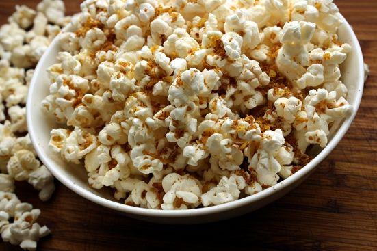 Coconut Curry Popcorn...interesting | Foods | Pinterest