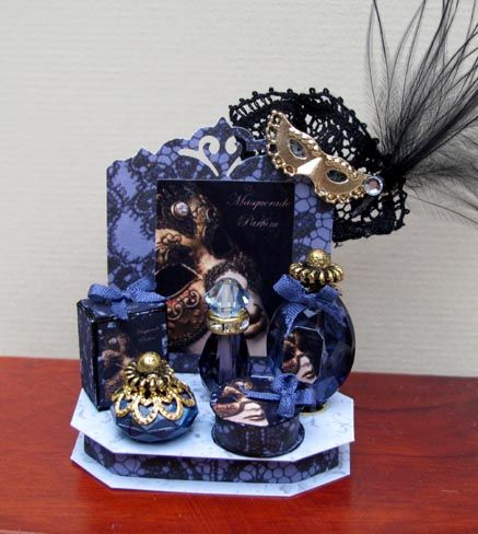 Masquerade Perfume Display
