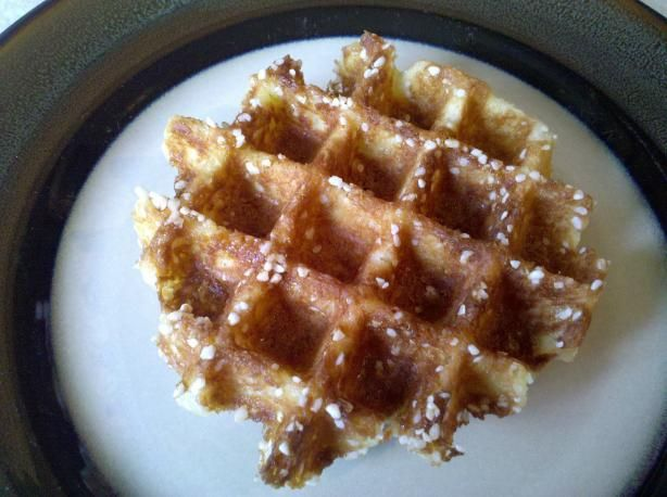 Liege Waffles (Belgian Pearl Sugar Waffles) | Recipe