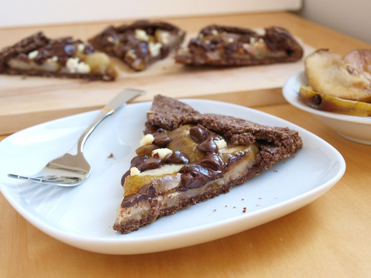 Caramelized Pears, Goat Cheese And Chocolate Tartlets Recipes ...