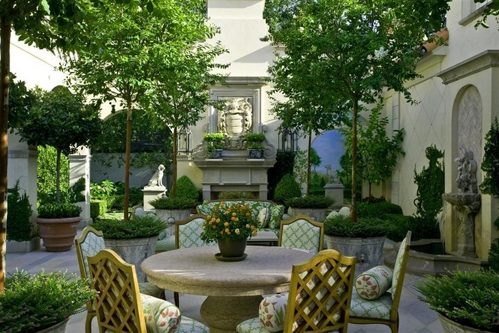 French neo classical garden Neo Classical Pinterest