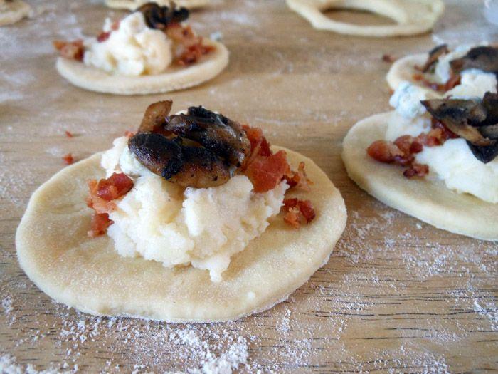 Pierogi With Potato, Cheese, Bacon, And Peas Filling ...