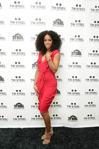 Kelly Rowland unveils her TW Steel Special Edition watches in NYC