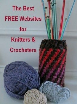 Knitting Websites : best knitting and crochet sites Knitting Pinterest