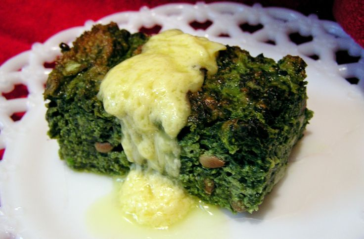 Spinach souffle | Recipes | Pinterest