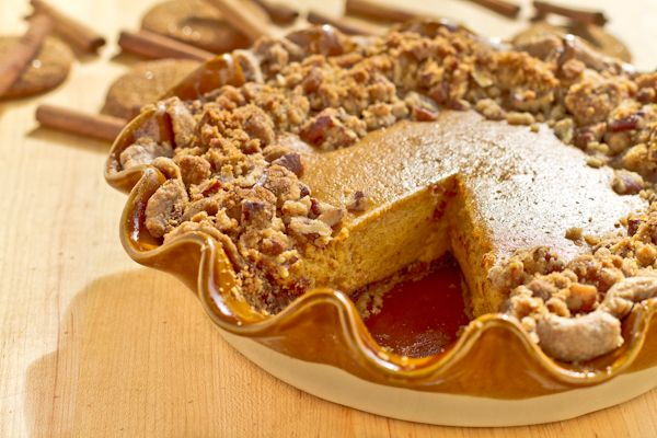 gingersnap pumpkin pie @Caroline Edwards | chocolate and carrots