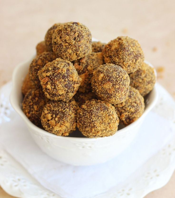 Gingersnap Chocolate Ganache Truffles | Best Of The Weekend Party ...