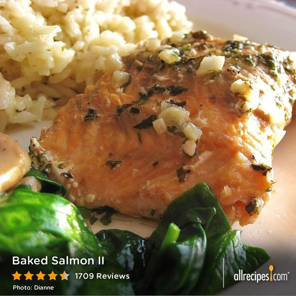 "Baked Salmon II | ""This was my first time making fish and it was a ..."
