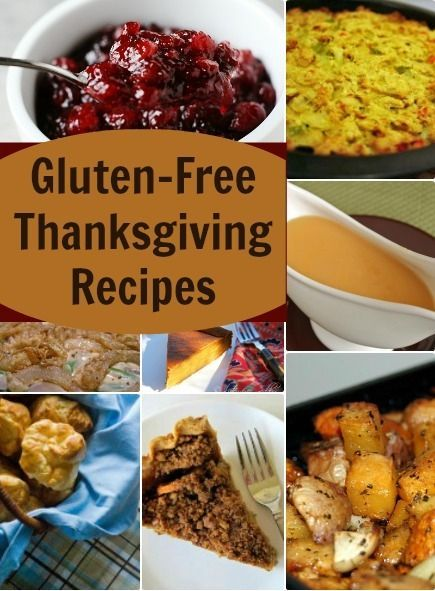 Gluten-Free Thanksgiving Recipes. | Healthy Recipes | Pinterest