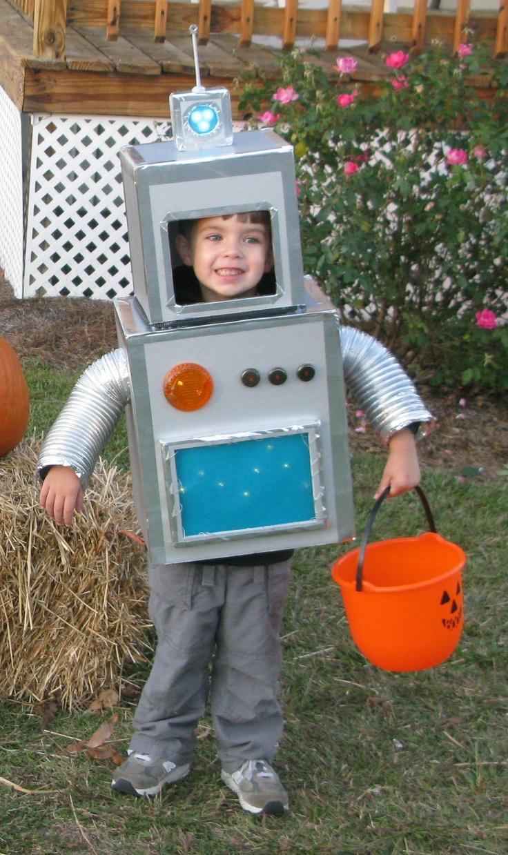 Роботы своими руками из подручных материалов для детей 32
