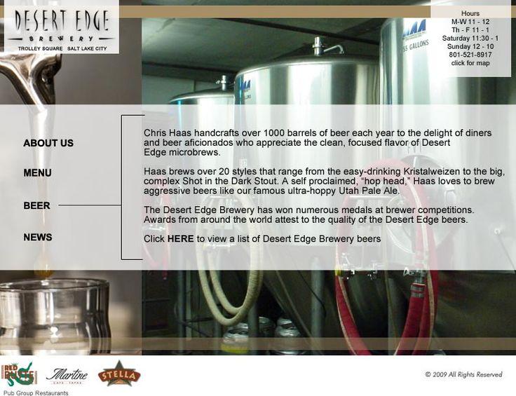 desert edge brewery
