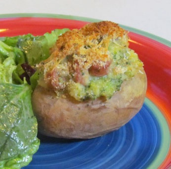 Baked Overstuffed Yukon Potatoes~ This is not your typical twice baked ...