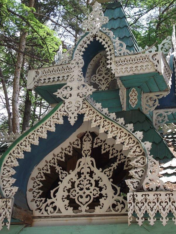 Wooden architecture, Russia. Acbfd15a30efc5e63e360dd432170a42
