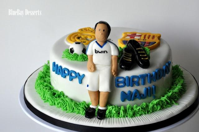 Real Madrid Birthday Cake Soccer Pinterest