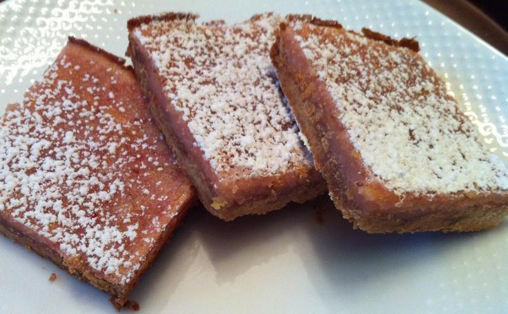Strawberry Lemon Bars | Sweets | Pinterest