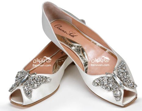 flat bridal shoes. Again, where were these when I got married