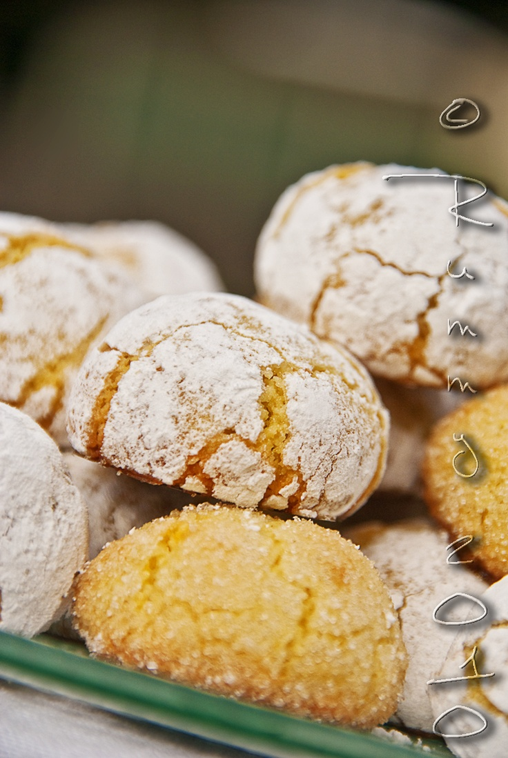 almond orange cookies | cookie gifts | Pinterest