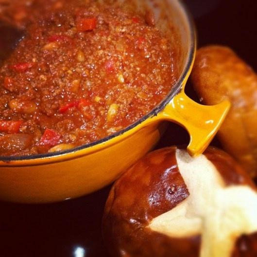 Slightly Smoky Mixed-Bean Chili Recipe — Dishmaps