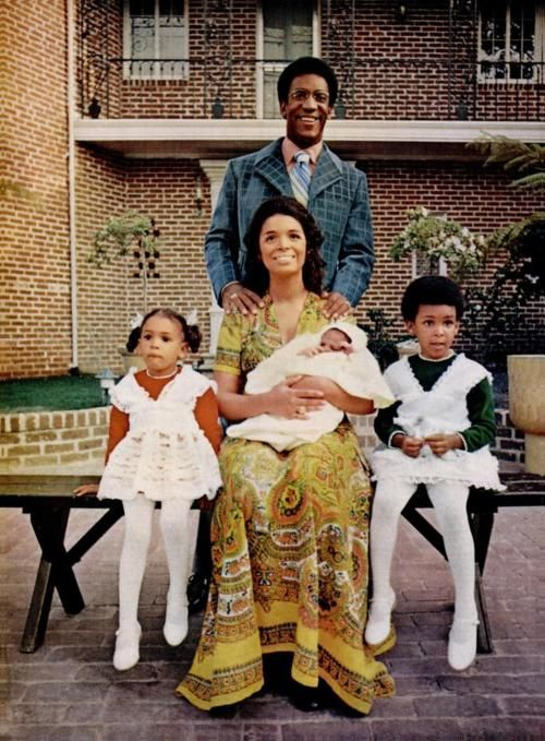 Bill amp camille cosby and family how when we reminisce