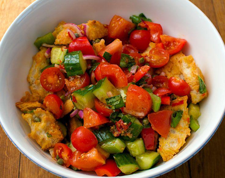 Panzanella   Nutrition plan recipes   Pinterest