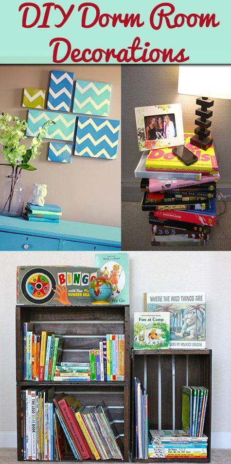 DIY Dorm Room Decorations Creative Ideas Crafting DIY Pinterest