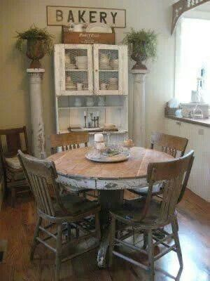 Round Farmhouse Table