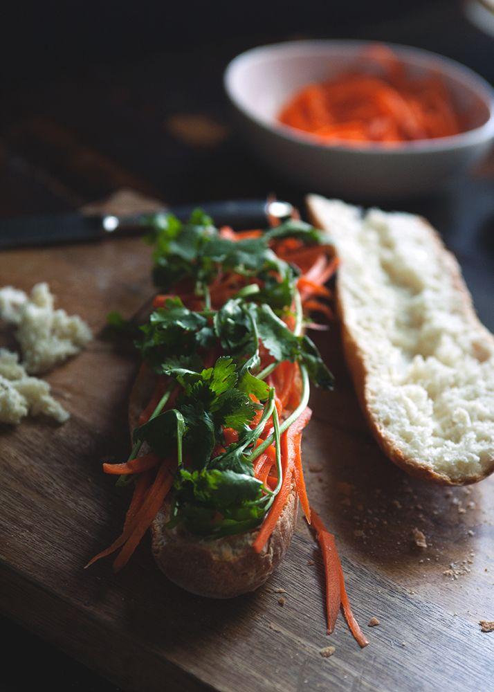 Pork Meatball Banh Mi | Recipes - Sandwiches/Wraps | Pinterest
