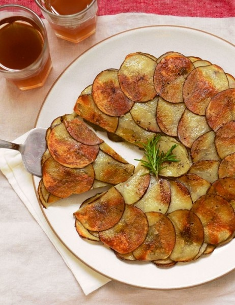 Potato and Leek Galette 1/4 cup olive oil, divided 1 large leek, white ...