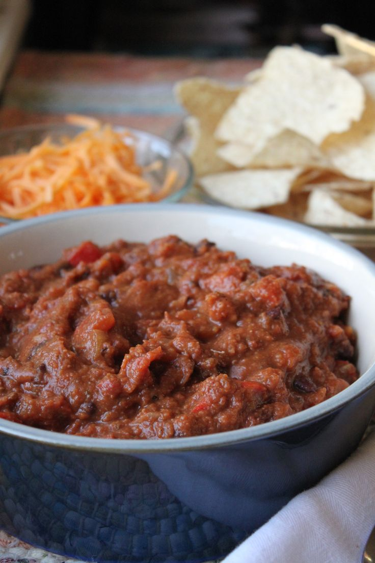 Smoky Chipotle Vegetarian Chili | Recipe