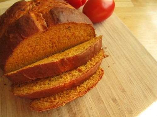 Tomato Basil Bread | breads, buns and rolls | Pinterest