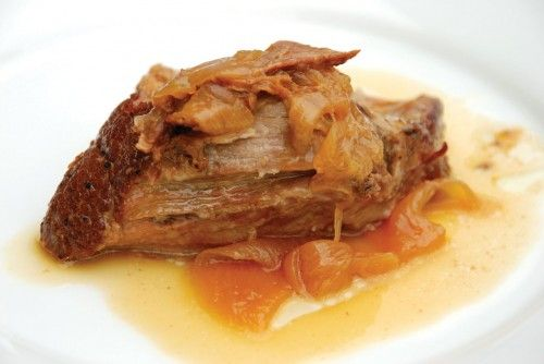 Apple Cider Braised Pork Shoulder