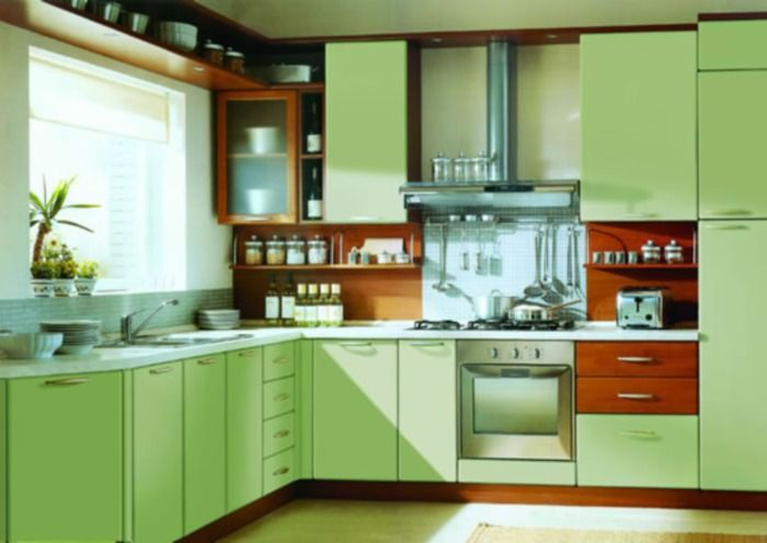 Green And Orange Kitchen GreenOrange Home Pinterest